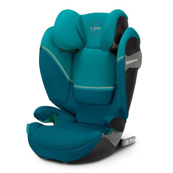 Εικόνα της Cybex Solution S I-Fix παιδικό κάθισμα αυτοκινήτου River Blue | turquoise