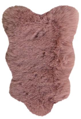 Εικόνα της Χαλί 80x150 Rabbit Pink Animal shape