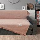Εικόνα της Lino Home Ριχτάρι Διθέσιου Καναπέ Markez  Pink 180x300 cm