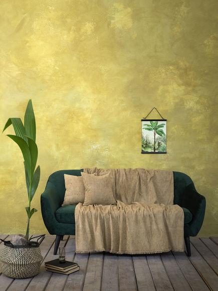 Εικόνα της Nima Ριχτάρι Διθέσιου Καναπέ Estera 180x240cm Mustard Beige