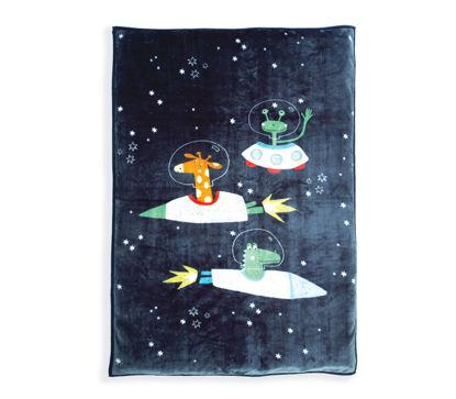 Εικόνα της ΠΑΙΔΙΚΗ ΚΟΥΒΕΡΤΑ 160x220 SPACE ZOO NEF NEF