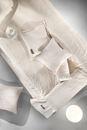 Εικόνα της Guy Laroche Ριχτάρι Γούνινο Σετ 2 Τεμαχίων 170×250  Crusty Ivory