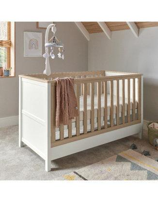 Εικόνα της Κρεβάτι Mamas & Papas Harwell White/ Natural